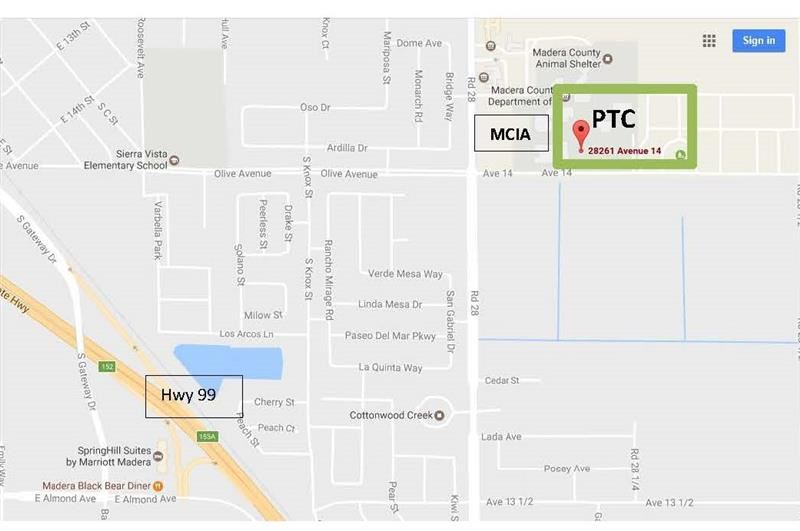 PTC Map Location