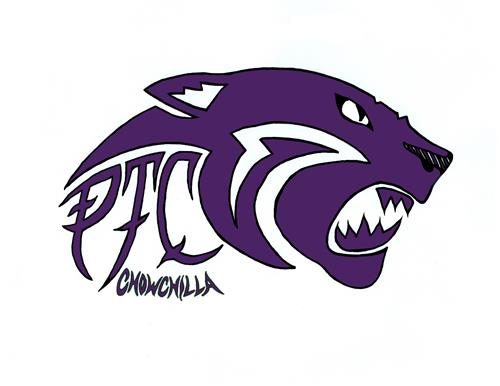PTC Chowchilla's revised logo, panther
